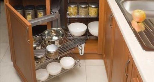 L'aménagement intérieur des meubles de cuisine