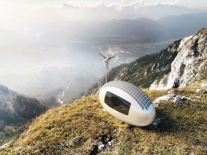 L'écocapsule : la maison nomade