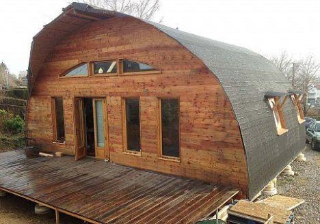 L'écoquille, la maison eco-construction en kit