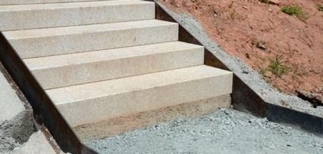 L'escalier d'extérieur