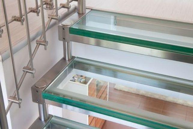 L'escalier en verre