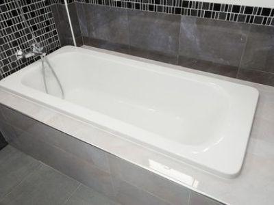 La baignoire rectangulaire