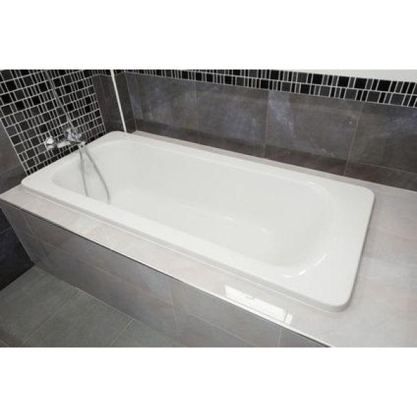 La baignoire rectangulaire installation for Baignoire grande taille rectangulaire