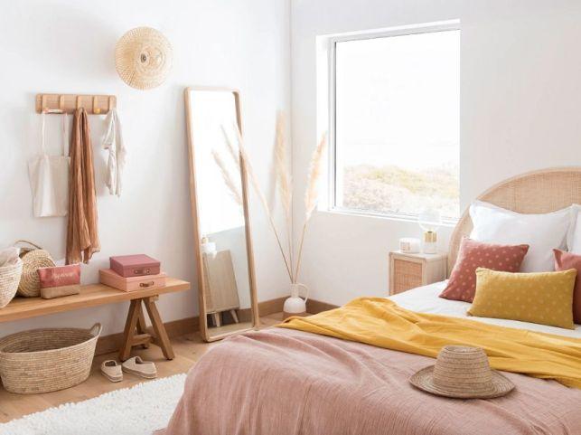 La chambre Soft Mood pastel de Maison du Monde