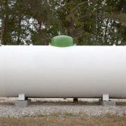 La citerne de gaz pour chaudière