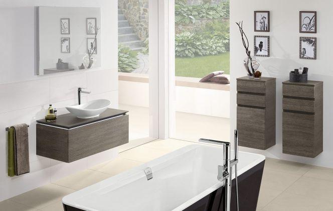 La collection de meubles Legato saura s'accorder à tous les aménagements de la salle de bains en fonction de vos envies et besoins.  © Espace Aubade