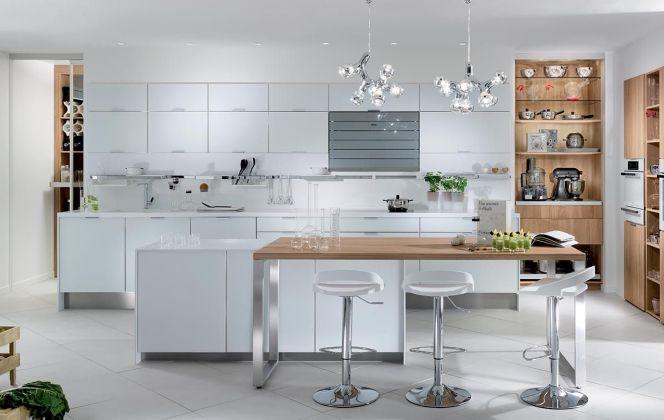 La cuisine blanche Eclat de Perene © Perene