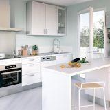 en photos les plus belles cuisines blanches cuisine blanche par cuisinella. Black Bedroom Furniture Sets. Home Design Ideas