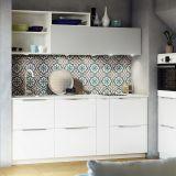 La cuisine blanche par Ikea