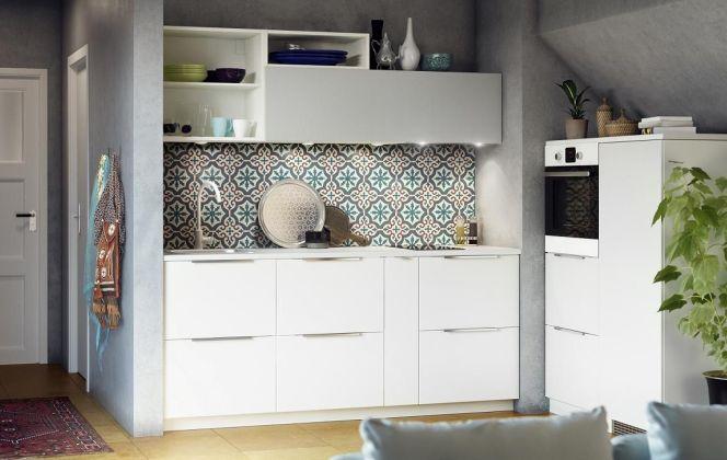 La cuisine blanche par Ikea © Ikea