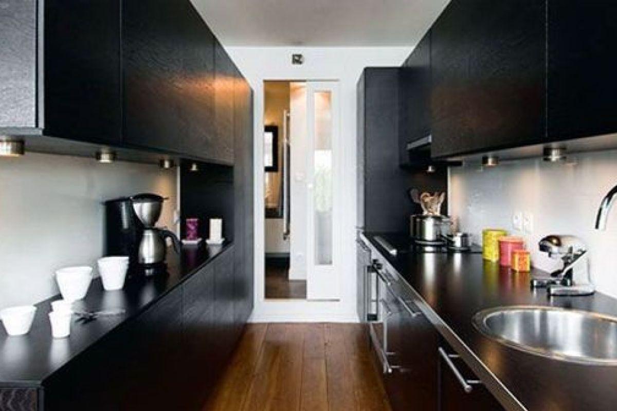 Plan De Travail 1M De Largeur la cuisine couloir : implantation d'une cuisine tout en longueur