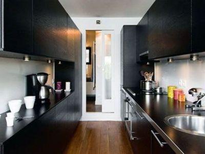La cuisine couloir
