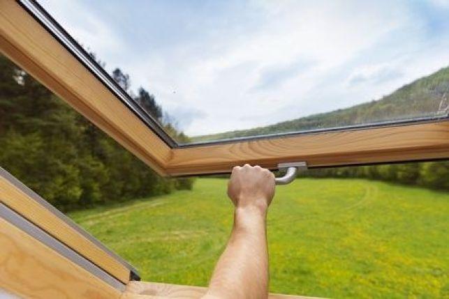 La fenêtre avec vitrage antireflet