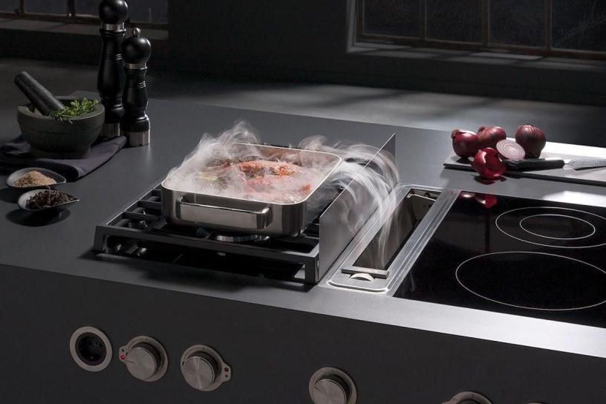 Cuisson Induction Avantages Inconvénients la hotte intégrée à la table de cuisson : un système innovant