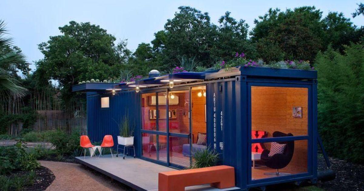 La maison container un concept original for Maison container green habitat