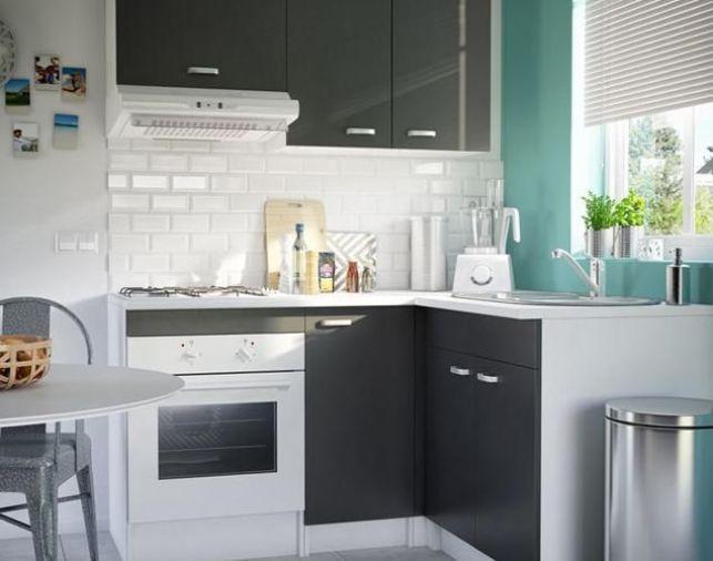 La mini cuisine, idéale pour les tous petits espaces