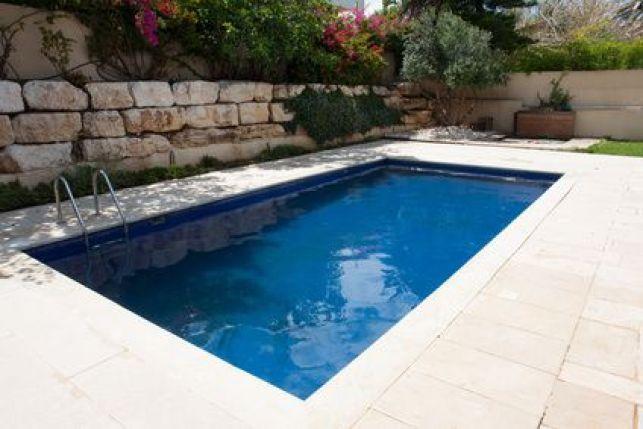 La piscine enterrée