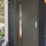 La porte en acier galavanisé