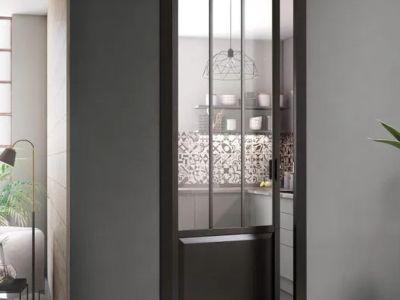 La porte en verre/vitrée : pour l'extérieur ou l'intérieur