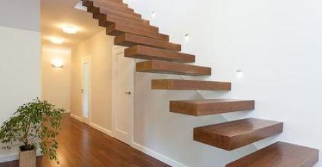 La structure générale d'un escalier