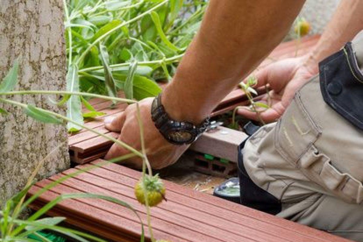Terrasse En Palette Duree De Vie lambourdes pour terrasse en bois