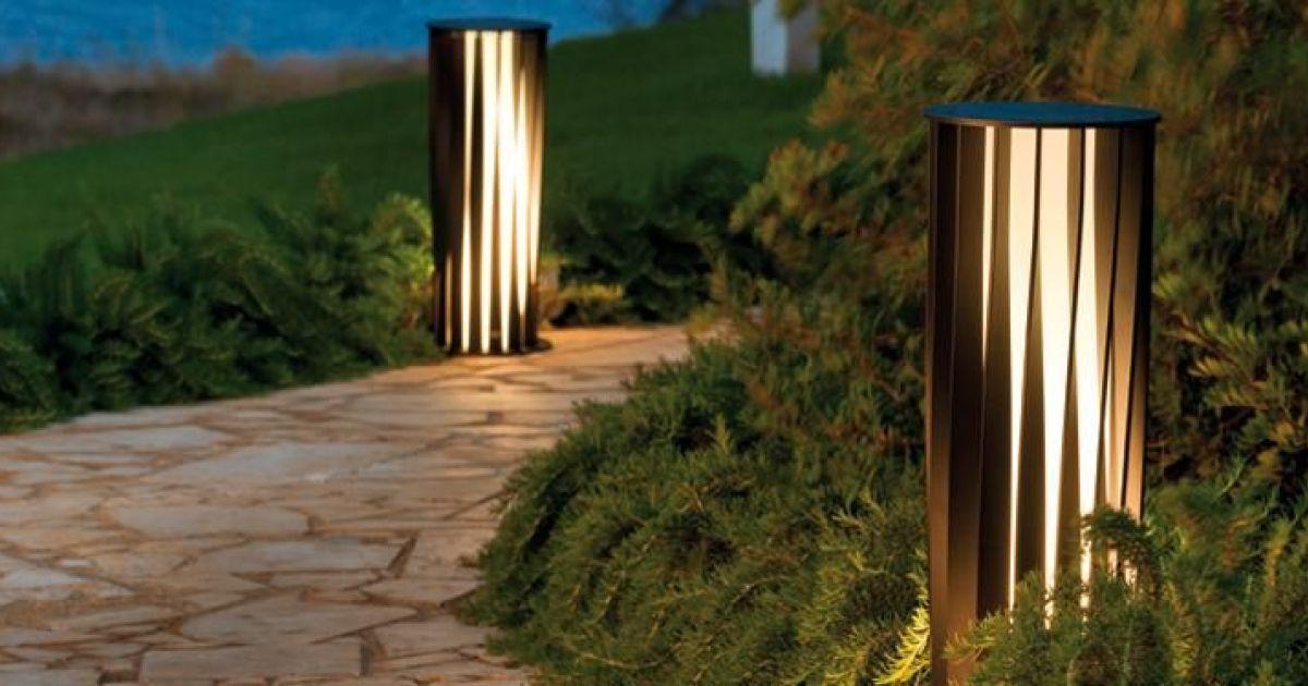 Notre s lection d 39 clairage de terrasse lampadaire aton par unopi Installer un paravent de terrasse