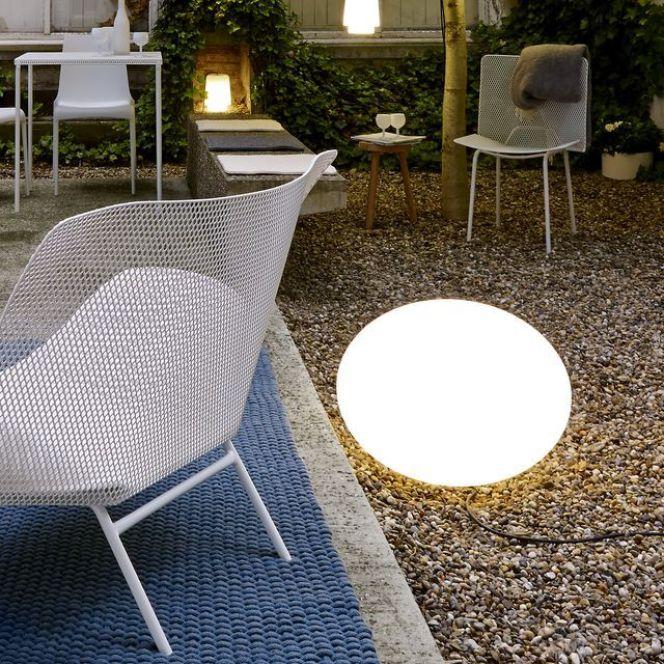 notre s lection d 39 clairage de terrasse lampe globe par cinna. Black Bedroom Furniture Sets. Home Design Ideas