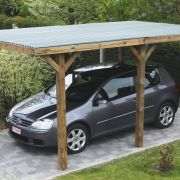 Le carport autoportant