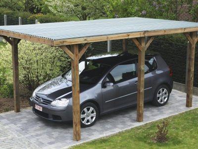 Le carport autoportant