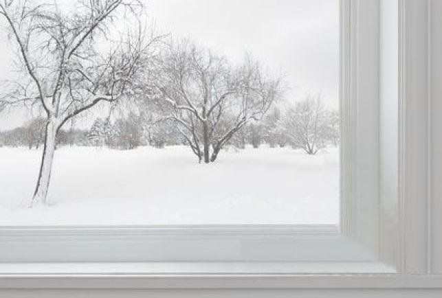 Le dormant d'une fenêtre