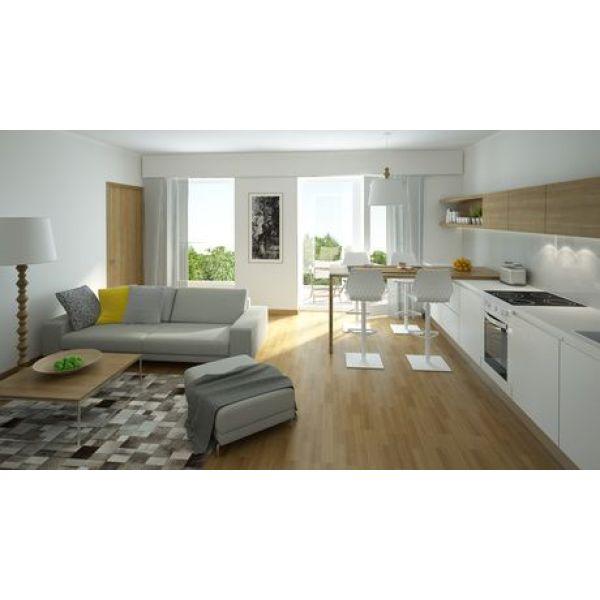 le home staging appliqu un salon. Black Bedroom Furniture Sets. Home Design Ideas