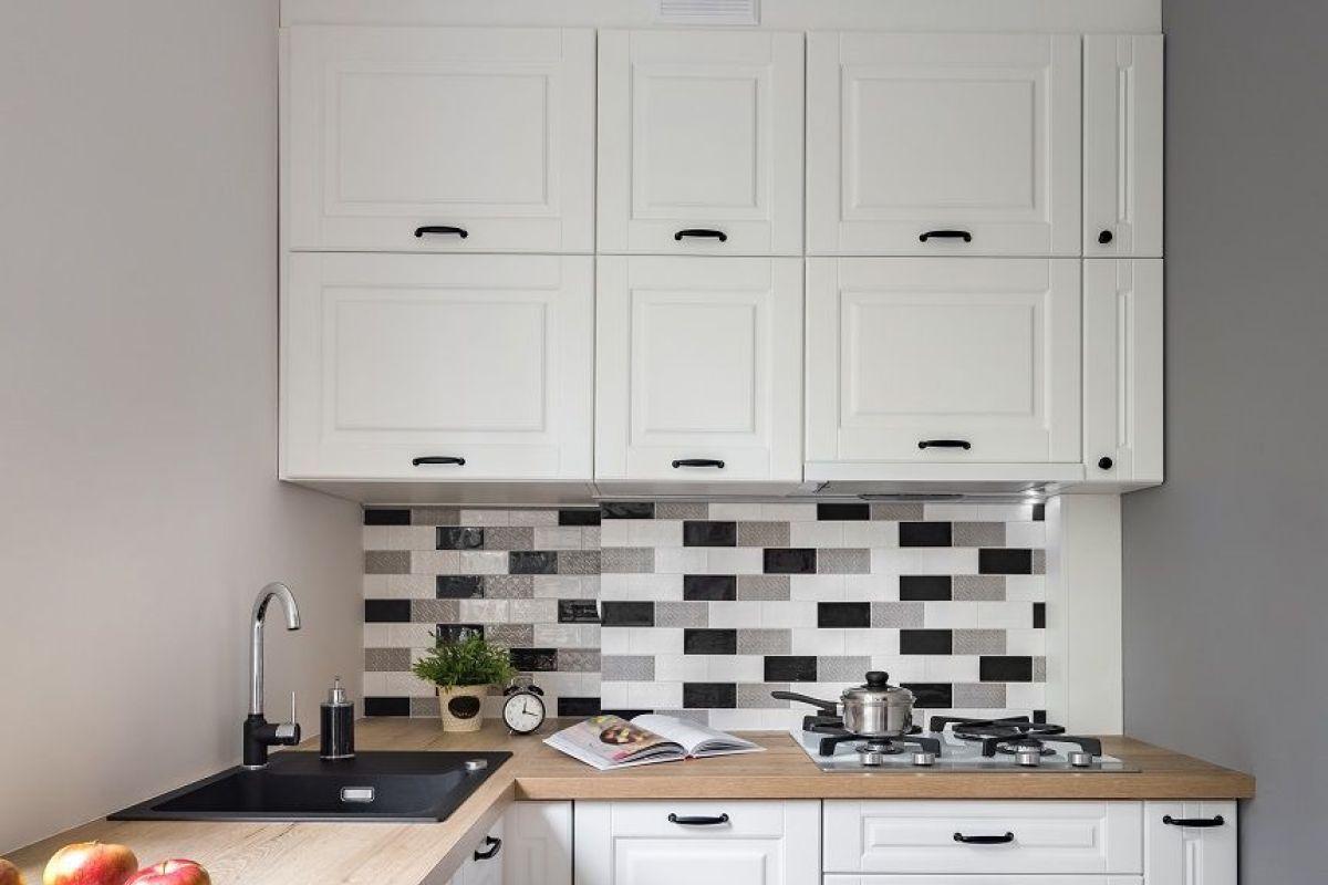 Hauteur Entre Plan De Travail Et Meuble Haut le meuble d'angle de cuisine : modèles, prix, critères de choix