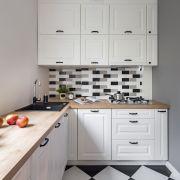 Le meuble d'angle de cuisine