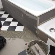 Le montage d'une douche, étape par étape