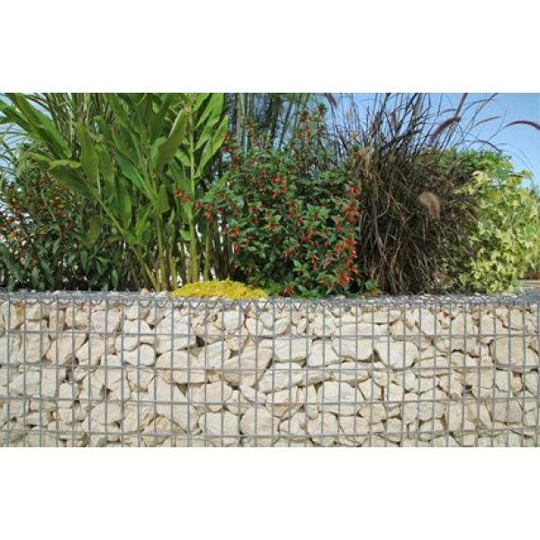 Le mur en gabion une clot re tendance en pierres - Mur de cloture en gabion ...