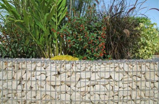 Le mur en gabion