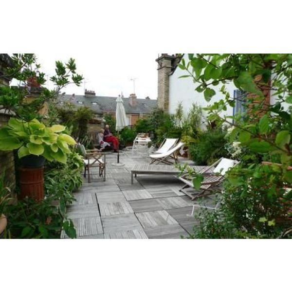 Le patio de jardin un endroit paisible et ombrag pour l 39 t for Amenager jardin 10m2