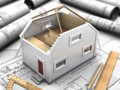 Le plan de coupe d'une maison