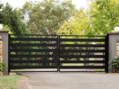 Le portail battant, entre simplicité et efficacité