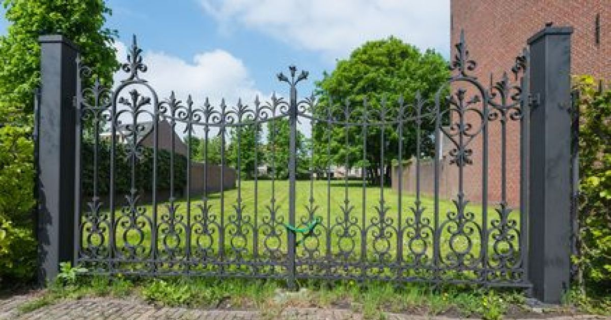 Le portail en fer forg un charme ternel for Deco portail fer forge