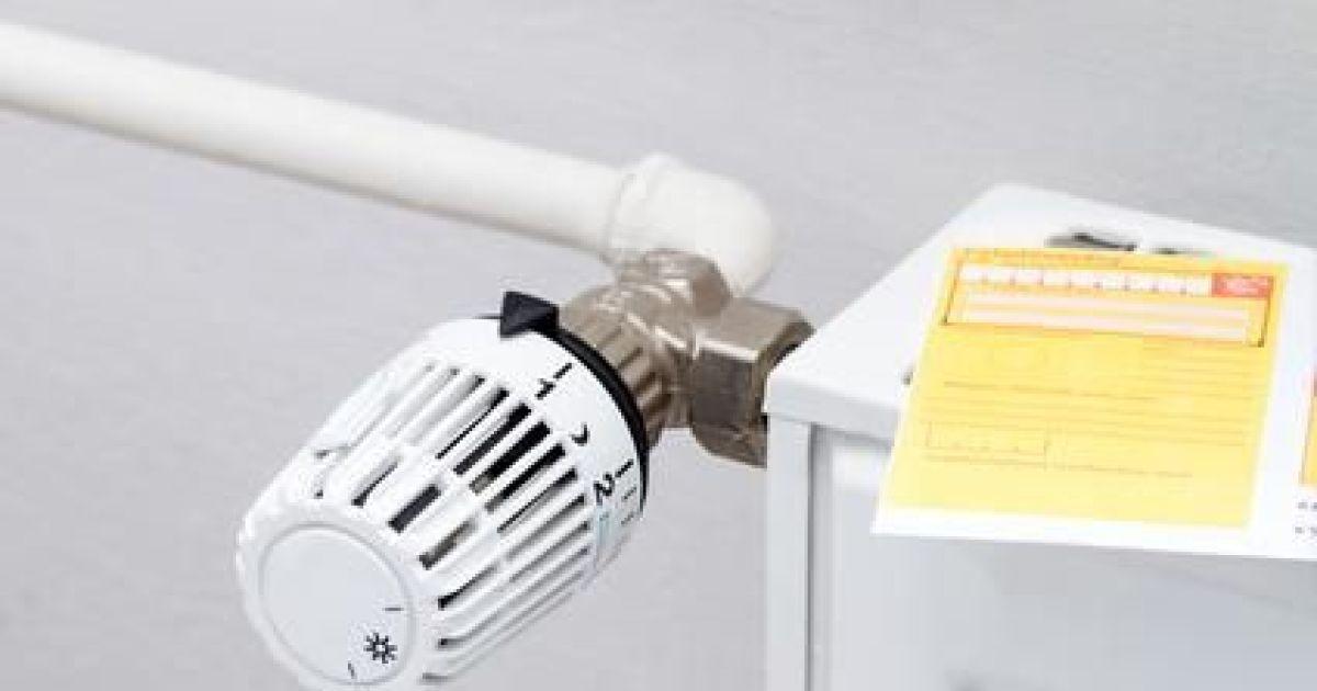 Le r glage d un radiateur - Reglage thermostat chauffage gaz ...