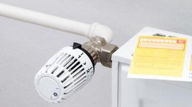 Le réglage d'un radiateur