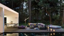 Le salon d'extérieur luxe & détente par Minotti