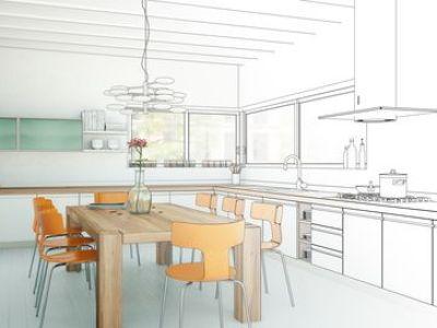Schéma d'une cuisine
