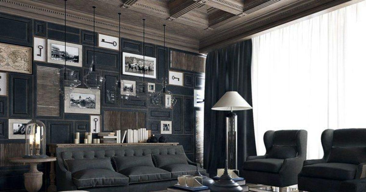 le style n o classique en d co maison. Black Bedroom Furniture Sets. Home Design Ideas