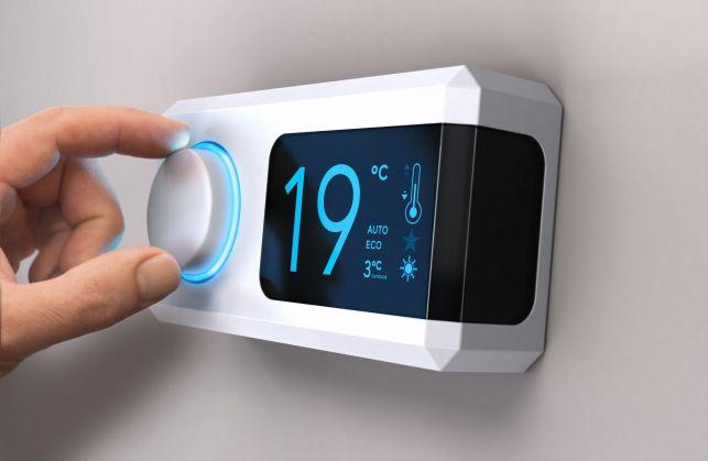 Le thermostat d'ambiance d'un radiateur