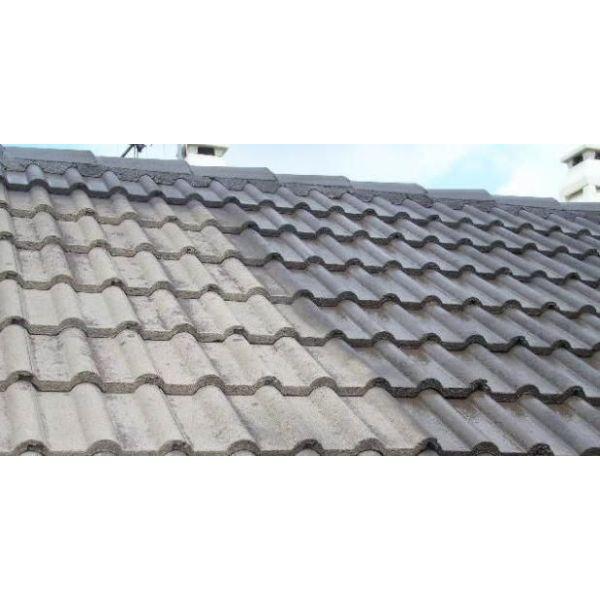 Le toit avec tuiles en b ton sp cificit s avantages for Tuile faitiere beton