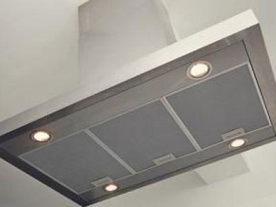 Le ventilateur de la hotte de cuisine