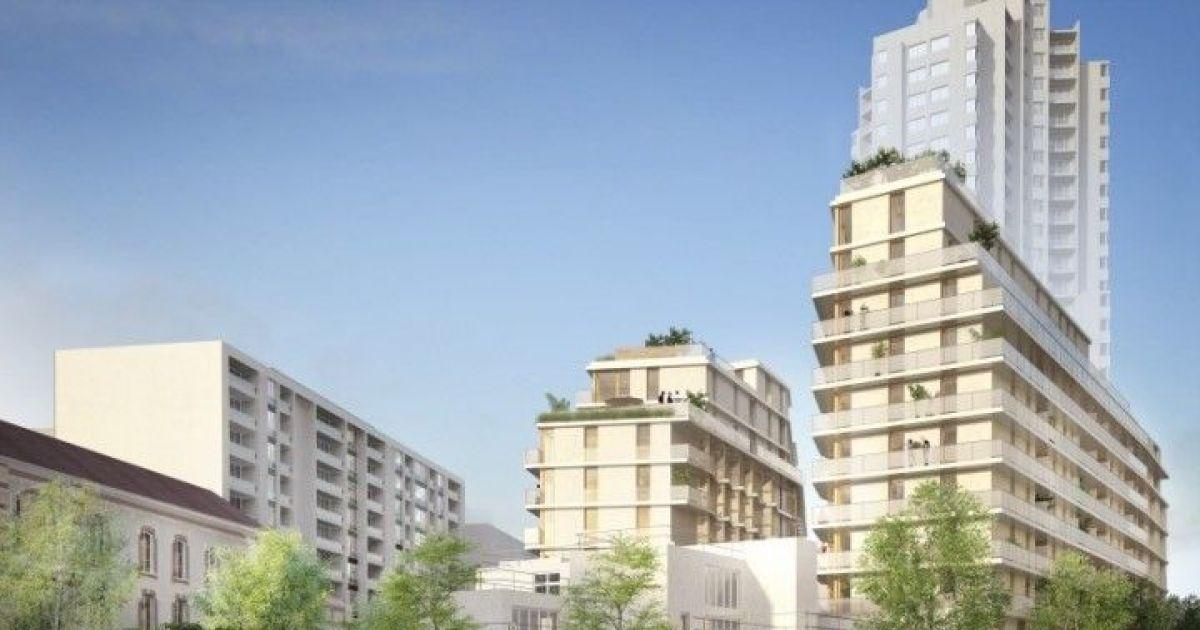 les 5 plus beaux programmes immobiliers neufs paris. Black Bedroom Furniture Sets. Home Design Ideas