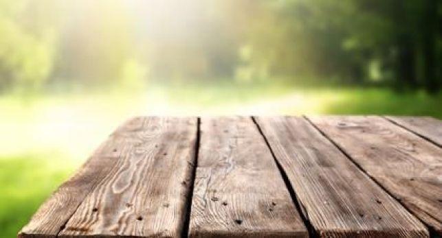 Les allées de jardin en bois